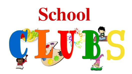 School Clubs graphic